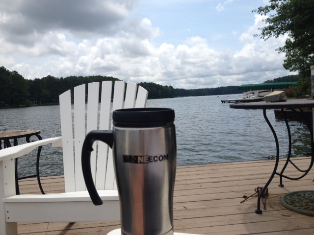 NEECOM Mug in Lake Oconee, Greensboro GA - BrentDickey